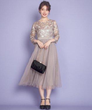 エンブロイダリーLuxe ドレス