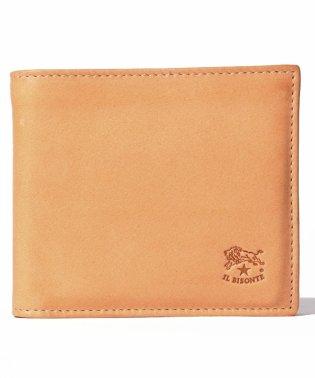【IL BISONTE】小銭入れ付二つ折財布