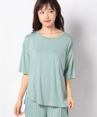 【セットアップ対応商品】YOGAポケット付きTシャツ