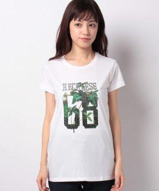 クロスミニフリル半袖Tシャツ・カットソー