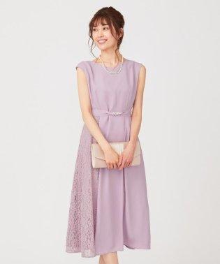 【2WAY】サイドレースジュエル ドレス