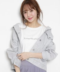 【and GIRL4月号掲載】ロゴTシャツ