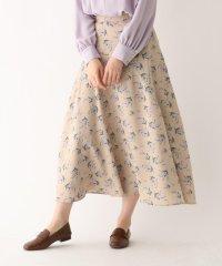 【steady.3月号掲載】花柄フレアスカート