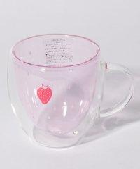 イチゴ耐熱ダブルウォールマグカップ