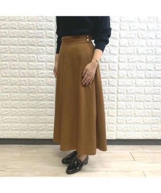 ウールライクフレアスカート