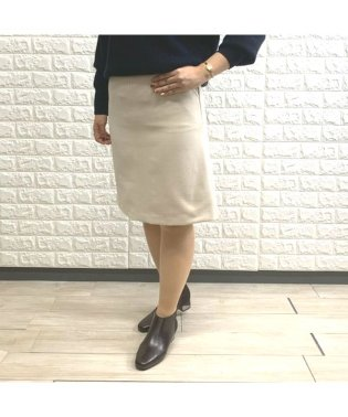 ウール見え台形スカート