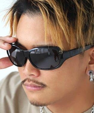 オーバルサングラス/サングラス メンズ レディース グラサン バタフライ オーバル