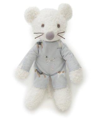 【BABY】'ベビモコ'ネズミ baby ガラガラ