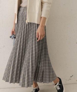 【予約】チェックプリーツスカート