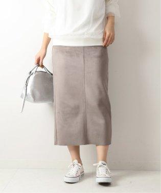 フェイクスエードストレッチタイトスカート◆