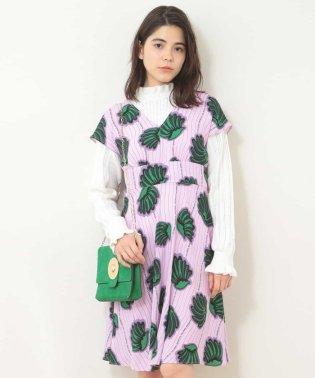 シェルプリントドレス