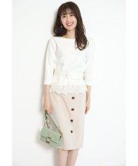 裾刺繍セットアップ