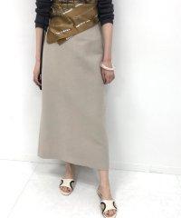 ライトツイードスカート◆