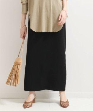 《追加予約2》 バックスリットIラインスカート◆