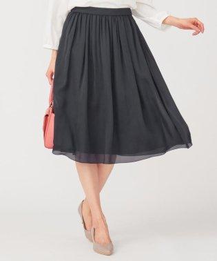 【洗える】エアリーギャザー スカート