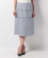 【セットアップ対応】ラメ混ミックスツィード スカート