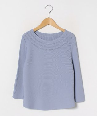 【大きいサイズ】求心リブ編みニットセーター
