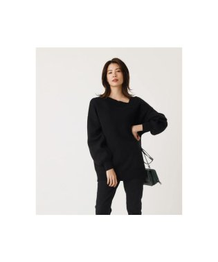 ASYMMETRY SWEATTER TOPS