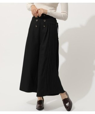 SIDE PLEATS TRENCH PANTS