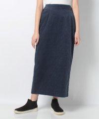 【ear PAPILLONNER】バックスリットコーデュロイロングスカート