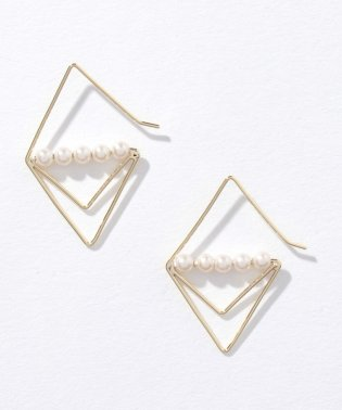 【ear PAPILLONNER】三角パールピアス
