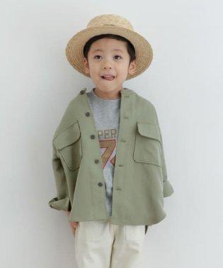 【予約】バンドカラージャケット(KIDS)