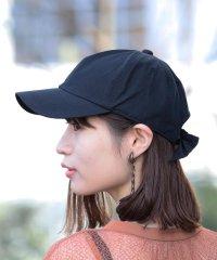Casselini × Ray BEAMS / 別注 バック リボン キャップ