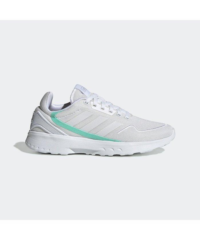 (adidas/アディダス)アディダス/レディス/ZEDRUNNING W/レディース フットウェアホワイト/ダッシュグレー/バヒアミント