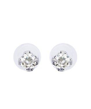 Pt900 天然ダイヤモンド 計0.04ct スタッド プラチナ プチピアス
