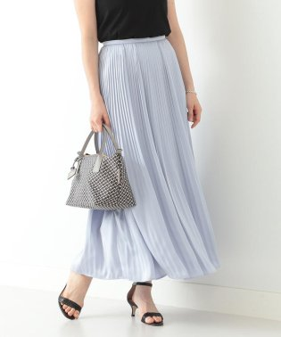 Demi-Luxe BEAMS / ロイヤルサテン プリーツスカート