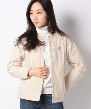 ノーカラー中綿ジャケット