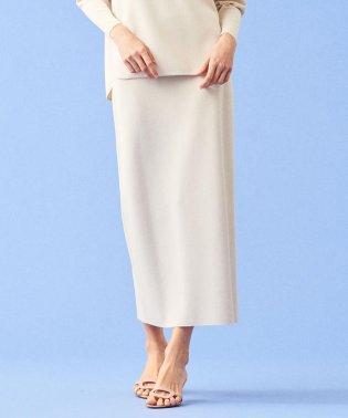 ミラノリブ ミディタイトスカート