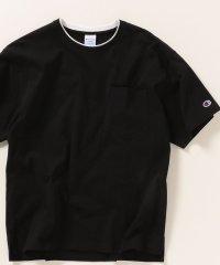 SHIPS any×Champion: フェイクレイヤー ポケット Tシャツ