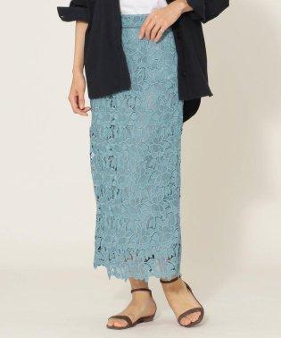 《予約》SHIPS any:レースタイトスカート