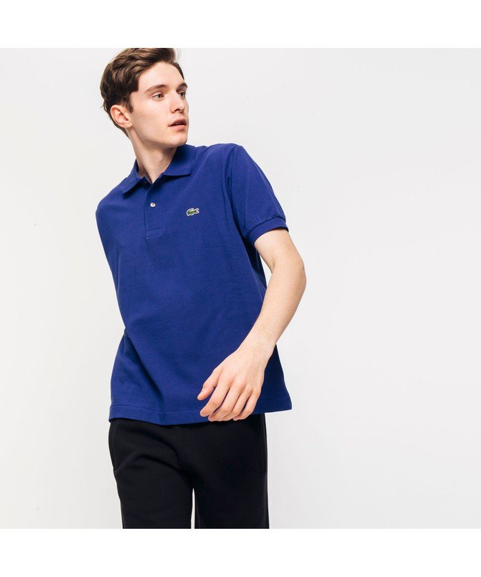 (LACOSTE Mens/ラコステ メンズ)『L.12.12』定番半袖ポロシャツ/メンズ プラム
