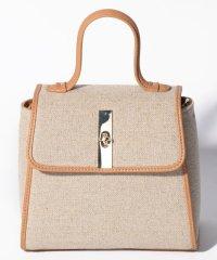 異素材ハンドバッグ