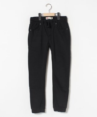 【KIDS】PULL ON KNIT JOGGER BLACK BEAU