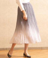 【雑誌掲載】グラデーションプリーツスカート