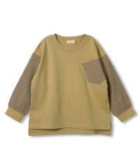 袖切替え長袖Tシャツ(80~150cm)