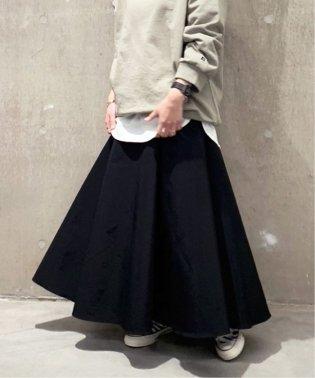 グログランフレアースカート