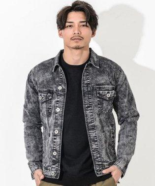 CavariA【キャバリア】ストレッチケミカル  デニム ジャケット