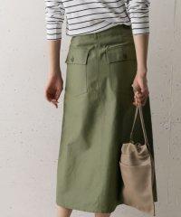 ベイカーロングスカート