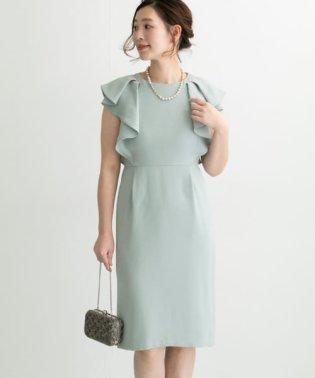 【予約】変形フリルコクーンドレス