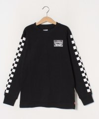 【KIDS】LS CHECKERED TEE CAVIAR