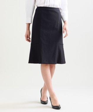 【セットアップ対応】【美Skirt】ツイーディーアートピケセミフレアースカート