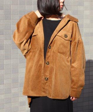 【195568】【2019新作】コーデュロイビッグCPOシャツジャケット fi AW