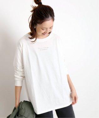《追加2予約》mon village ロゴTシャツ◆