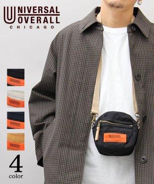 【UNIVERSALOVERALL/ユニバーサルオーバーオール】テフロン加工キャンバスミニショルダーバッグ