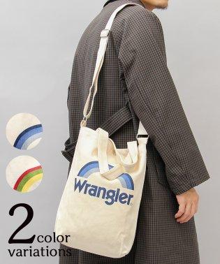 【Wrangler/ラングラー】2WAY縦型キャンバスショルダートートバッグ