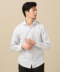 SC: コットン エアーパイル セミワイドカラー シャツ